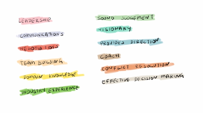 Qualities of an effective project manager